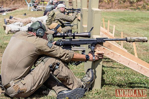 Caylen Wojcik takes aim at the 2013 Oregon Sniper Challenge. Photo courtesy of Terry Doi.