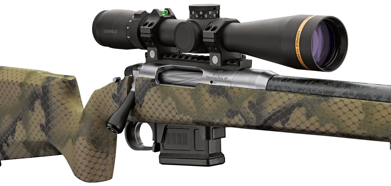 Switch Rifle from PROOF Research - available in camo and other colors.